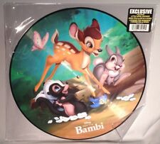 LP SOUNDTRACK Bambi (PICTURE DISC Walt Disney 2016) NEW MINT