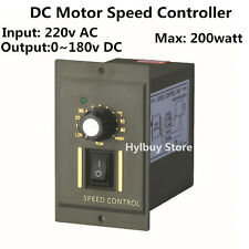 200W DC Motor Speed Controller Module AC 220V to 0-180V Permanent Magnet Motor