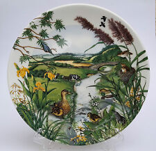 Wedgwood Sammelteller Colin Newman The Meandering Stream Limited Edition1987