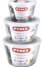 pyrex cook & freez set of 3