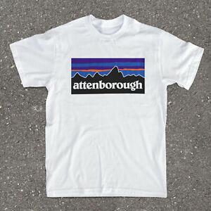 David Attenborough homage nature logo T-shirt size small SALE