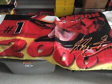 Ferrari Michael Schumacher signed Banner