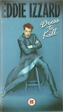 EDDIE IZZARD Dress To Kill DEBUT US LIVE SHOW video (1998) stand up comedy VHS