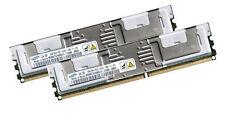 2x 4GB 8GB RAM Lenovo ThinkServer TD100x PC2-5300F 667 Mhz Fully Buffered DDR2