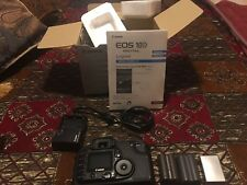 Canon EOS 10D 6.3MP Digital SLR Camera - Black With 3 Battery Good  Condition 😱