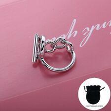 Bague Croisette Argent 925 taille 50 52 54 57 60 neuve Tendance 2020 Ring Silver