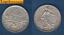 5 Francs Semeuse 1967 TTB SUP