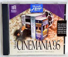 Microsoft Software Home Cinemania 95 Cdrom Ln