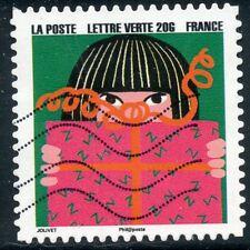 TIMBRE FRANCE  AUTOADHESIF OBLITERE N° 1196 / BONNE ANNEE / FETE DE FIN D'ANNEE