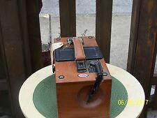 Biddle megger ground resistance wooden tester  VINTAGE