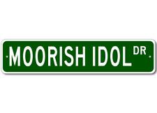 MOORISH IDOL - Fishing - High Quality Aluminum Fish Street Sign