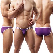 New Mens Sheer Mesh Briefs Underwear Sexy Panties Boxer Shorts Pants Underpants