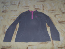 Sweat polaire , Fille, Gris/Rose , 10 ANS , Marque NKY, TTBE