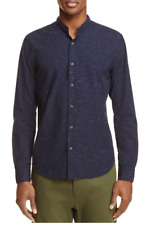 Scotch & Soda Band Collar Button-Down Shirt , Size L, MSRP $98