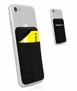 Porte Cartes Anti signaux RFID Pochette adhésive élastique Universel Etui Fourre