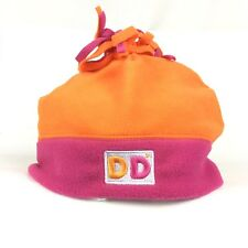 b51820312d0 Dunkin Donuts America Runs On Dunkin Orange Winter Beanie Hat Cap Adult Poly