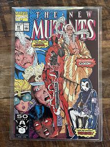 New Mutants #98 1st Deadpool Liefeld