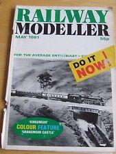 RAILWAY MODELLER MAGAZINE MAY 1981 GRANSMOOR CASTLE DMU CONVERSTION TAMERIG LOCO