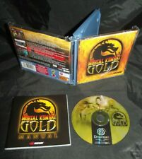 *** Mortal Kombat Gold - Komplett - PAL - Deutsch - Sega Dreamcast ***