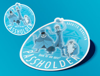 Disney World Passholder 2019 Haunted Mansion Three Hitchhiking Ghosts AP Magnet