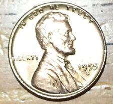 1955 S Uncirculated Lincoln Cent #W43