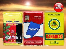 Yerba Mate - Rosamonte Suave -  Taragui - Canarias - 3 Kilos