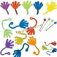 10 pcs Kids Party Supply pegajosa jalea blandos Manos del juguete
