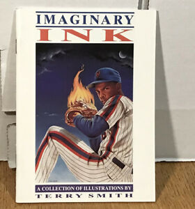 "IMAGINARY INK Terry Smith FLEER PROVISIONS Small 4""6"" Booklet 30 ILLUSTRATIONS"