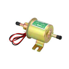 12V Universal diesel petrol gasoline electric fuel pump HEP-02A color plated FAC