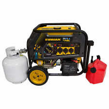 NEW - Firman H08053 Hybrid Series Dual Fuel Portable Generator