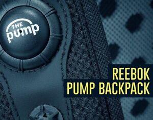Backpack REEBOK PUMP RARE Back Pack NEW Ruck Sack
