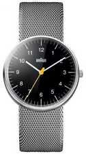Braun Unisex Staal Mesh Armband Horloge BN0021BKSLMHG Horloge