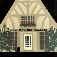 The Cat's Meow 1988 The New Masters Gallery Series VI Retired Village Collect