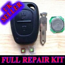 SUITABLE RENAULT TRAFIC VIVARO PRIMASTAR KANGOO REMOTE KEY FOB CASE REPAIR KIT
