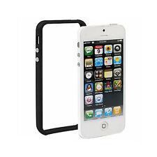 iPhone 5 TPU Silikon Schutz-Hülle Bumper Cover Tasche Case Schale schwarz