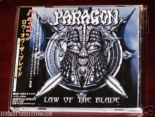 Paragon: Law Of The Blade CD 2002 Bonus Tracks Spiritual Beast Japan OBI NEW