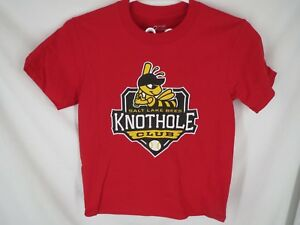 New Salt Lake City Bees Knothold Club Youth Size S/M Red Green Blue Orange Shirt
