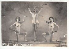 PHOTO BALLET LES FIRMOS FEMME NU NUE  STUDIO HOLLYWOOD