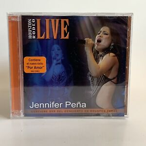 Jennifer Pena y los Jetz CD + DVD Houston Rodeo Live Tejano Selena Rare New