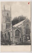 Cornwall postcard - Fowey Church (A867)