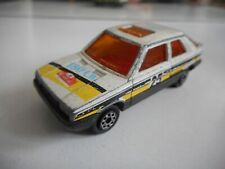 Majorette Renault 11 Rally in White + Red Interior