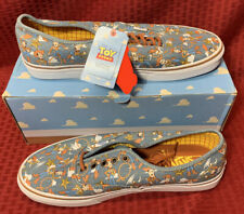 TOY STORY WOODY/ANDY DISNEY  Line VANS.HARD TO FIND IN BIGGER shoes Size 11.5