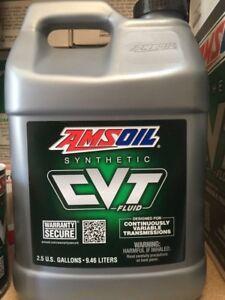 For Subaru e-CVTF, i-CVTF, Lineartronic® CVTF, Amsoil CVT FLUID-2.5 Gallon/9.46L