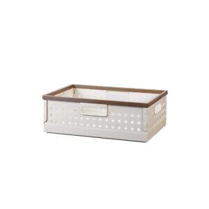 Inplus DIY Home & Kitchen Organization Basket (Gray Small)