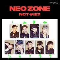 NCT 127 Cashbee Official Korea Travel Traffic transportation Photocard