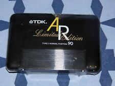 CASSETTE K7 AUDIO TAPE TDK AR 90 LIMITED EDITION SEALED NEUF vintage Japan 90mn