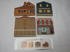 Lot Cats Meow Village Market Street Series Yankee Candle Schumacher Mills Windia