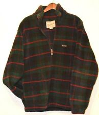 woolrich fleese sweater rugged outdoorwear size L MADE IN USA