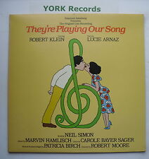 THEY'RE PLAYING OUR SONG - Original Cast - Ex Con LP Record Casablanca NBLP 7141