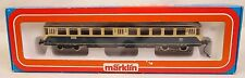 MARKLIN #4028 & #3028 SET OF (2) POWERED AND NON-POWERED PASSENGER CARS-MIB!